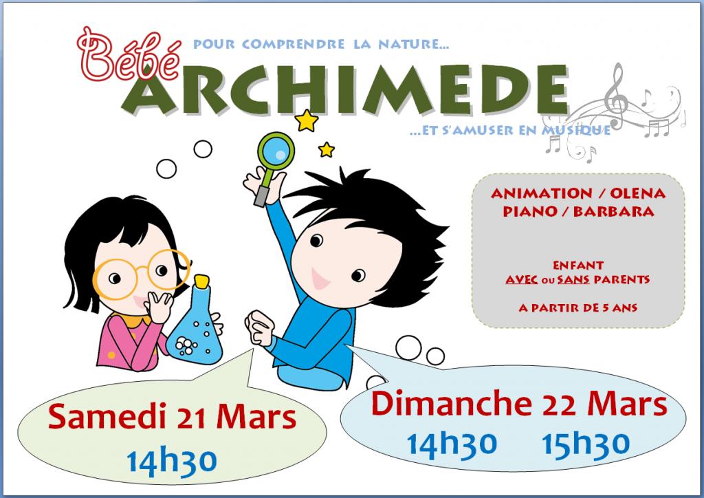 21-22 Mars 2015 - ARCHIMEDE & BM+