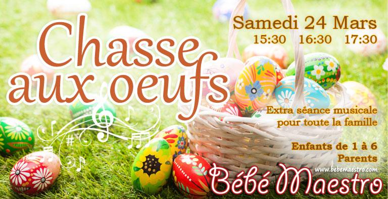 Samedi 24 March - Chasse aux œufs