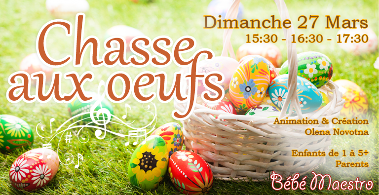 """Chasse aux oeufs"" Sunday 27 March 2016"