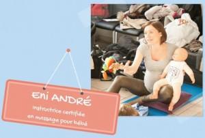 Eni André, spécialiste en massage bébé