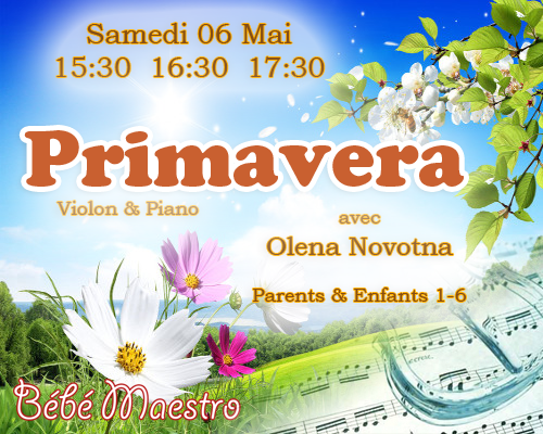 Bebe Maestro Primavera 06 May 2017