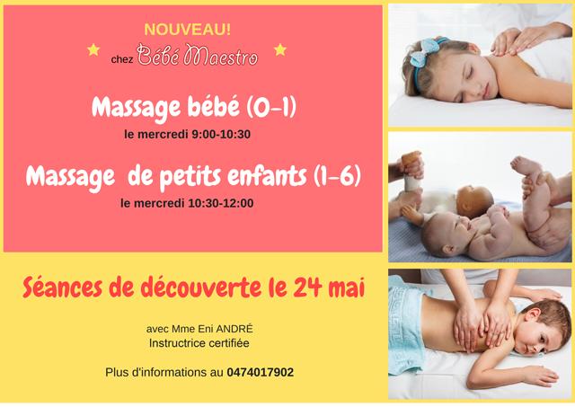 Massageb bébé - Séance de découverte 24/05/2017