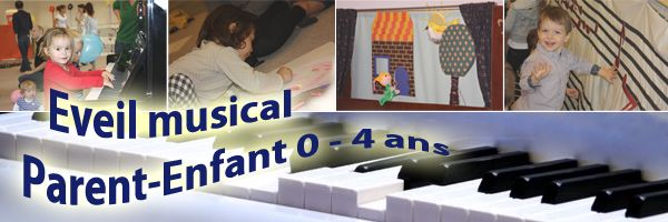 Bébé Maestro - Musical awakening Parent - Child (0-4 years)