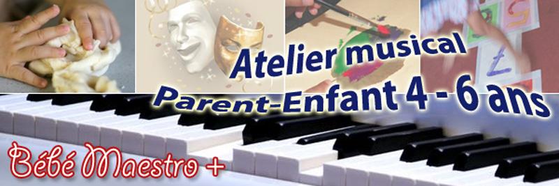 Bébé Maestro - Atelier musical 4-6
