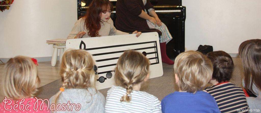 Bébé Maestro - Eveil musical dans les écoles